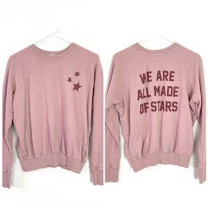 Spiritual Gangster Stars Pullover Sweatshirt XS